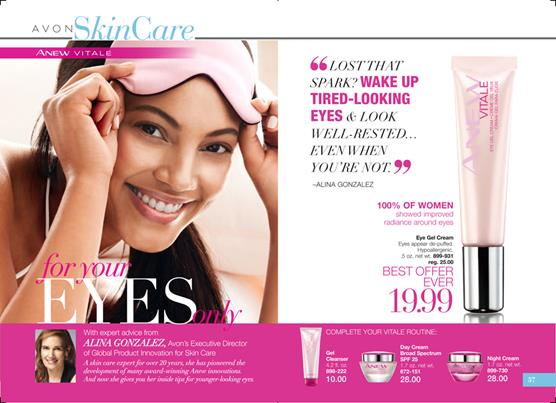 Avon catalog skin care campaign 5