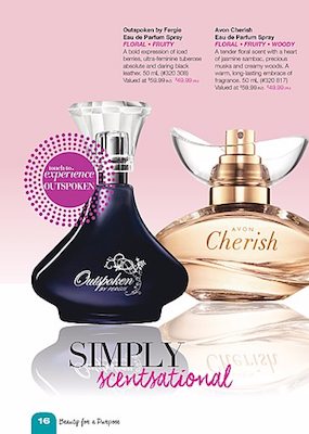 Avon Catalogue Parfum Spray Sale May 2016
