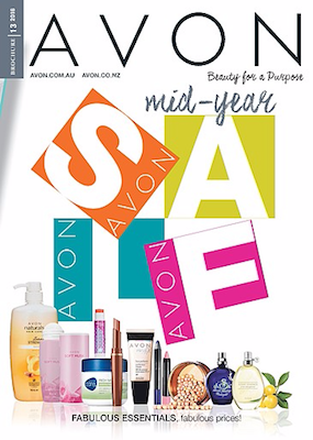 Avon Catalogue Mid Year Sale Jun 2016